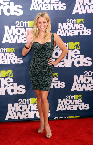 Reese Witherspoon Actress Reese Witherspoon arrives at the 2011 MTV Movie Awards at Universal Studios' Gibson Amphitheatre on June 5, 2011 in Universal City, California.