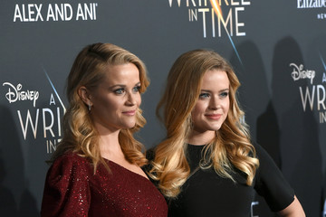 Reese Witherspoon Ava Phillippe Premiere Of Disney's 'A Wrinkle In Time' - Red Carpet