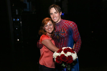Reeve Carney 'Spider-Man Turn Off the Dark' Performance in NYC