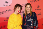 Refinery29 Creative Director Piera Gelardi (L) and Ellen Pompeo attend Refinery29 Presents 29Rooms Los Angeles 2018: Expand Your Reality at The Reef on December 4, 2018 in Los Angeles, California.