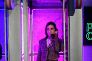 Zoe Lister-Jones interacts with The Plan B Hotline at Refinery29 Presents 29Rooms Los Angeles 2018: Expand Your Reality at The Reef on December 4, 2018 in Los Angeles, California.