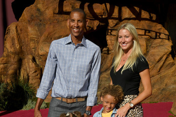 "Reggie Miller Premiere Of Disney's ""The Lion King"" - Red Carpet"
