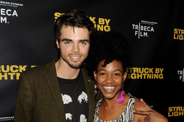 "Reid Ewing Screening Of Tribeca Film's ""Struck By Lightning"" - Red Carpet"