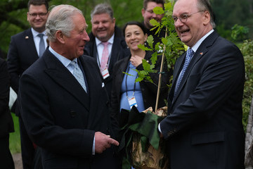 Reiner Haseloff The Prince Of Wales And Duchess Of Cornwall Visit Germany - Day 2 - Leipzig