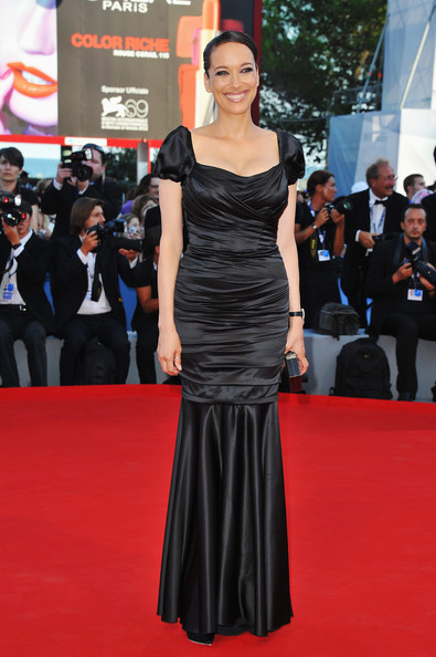 "Actress Carmen Chaplin attends ""The Reluctant Fundamentalist"" Premiere And Opening Ceremony during the 69th Venice International Film Festival at Palazzo del Cinema on August 29, 2012 in Venice, Italy."