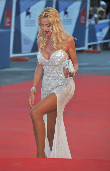 "Valeria Marini attends ""The Reluctant Fundamentalist"" Premiere And Opening Ceremony during the 69th Venice International Film Festival at Palazzo del Cinema on August 29, 2012 in Venice, Italy."