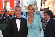 """Giampaolo Letta and Rossana Ridolfi attends """"The Reluctant Fundamentalist"""" Premiere And Opening Ceremony during the 69th Venice International Film Festival at Palazzo del Cinema on August 29, 2012 in Venice, Italy."""