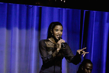 Renee Elise Goldsberry NAACP LDF 32nd National Equal Justice Awards Dinner - Inside