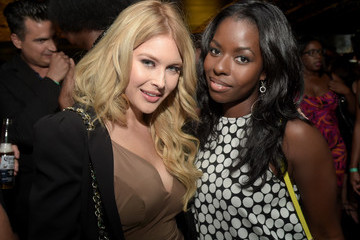 Renee Olstead Camille Winbush Guests Attend the 'America's Next Top Model' Cycle 22 Premiere Party, Presented by OPPO and NYLON