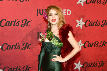 Renee Olstead Stars Attend Just Jared's 7th Annual Halloween Party
