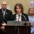 Emily Nottingham Rep.Giffords Staff Attends Capitol Hill Press Conf. With Wasserman Schultz