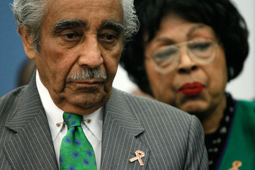 Diane Watson Rep. Rangel (D-NY) And Religious Leaders Discuss Health Care Reform