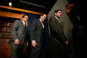 (L-R) U.S. House Minority Whip Rep. Eric Cantor (R-VA), Rep. Dave Camp (R-MI) and Rep. Paul Ryan (R-WI) leave after a news conference on the health care legislation March 19, 2010 on Capitol Hill in Washington, DC. The House will vote on the Health Care Reform Legislation on Sunday.