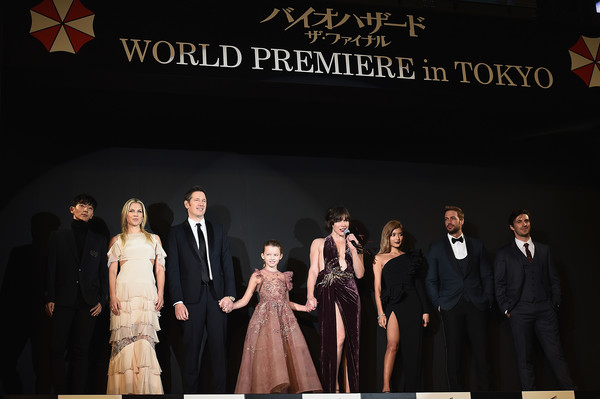 Resident Evil The Final Chapter Premiere In: Milla Jovovich In 'Resident Evil: The Final Chapter' World