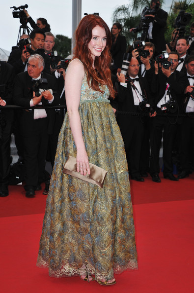 Actress Bryce Dallas Howard arrives at the 'Restless' premiere during the 64th Annual Cannes Film Festival at the Palais des Festivals on May 12, 2011 in Cannes, France.