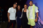 T.I., Tamika Mallory, Candace Owens, and Steven Pargett attend day 3 of REVOLT Summit x AT&T Summit on September 14, 2019 in Atlanta, Georgia.