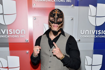 Rey Mysterio Univision's 2016 Upfront Red Carpet