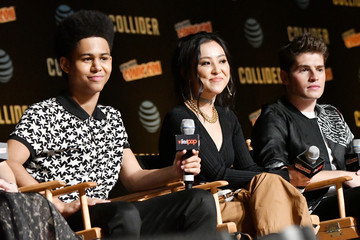 Rhenzy Feliz Hulu's Runaways Panel at New York Comic Con