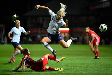 Rhiannon Roberts Wales vs. England - FIFA Women's World Cup Qualifier