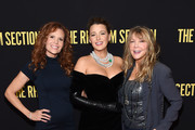 """(L-R) Robyn Lively, Blake Lively, and Elaine Lively attend the screening of """"The Rhythm Section"""" at Brooklyn Academy of Music on January 27, 2020 in New York City."""
