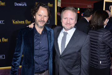 Rian Johnson Premiere Of Lionsgates' 'Knives Out' - Red Carpet