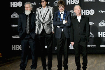 Ric Ocasek 33rd Annual Rock & Roll Hall Of Fame Induction Ceremony - Press Room