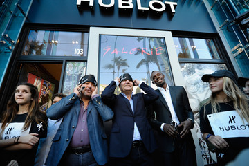 Ricardo Guadalupe Hublot Design District Opening