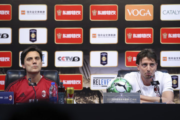 Riccardo Montolivo AC Milan Official Training & Press Conference - 2017 International Champions Cup China