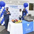 Richard Ayoub Lisa Rinna Presents Project Angel Food's 13 Millionth Meal