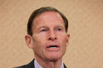 Richard Blumenthal Sen. Schumer (D-NY) Holds News Conference on Supreme Court Justice Nominee Gorsuch's Record