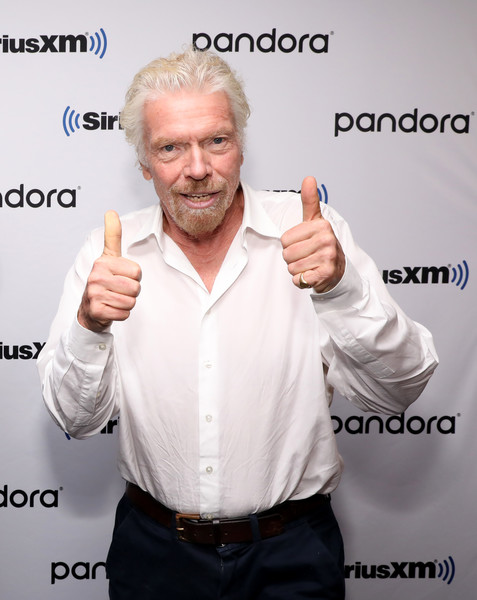 Broadcast Of 'Learning With Richard Branson' With Guest David Miliband