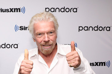 Richard Branson Broadcast Of 'Learning With Richard Branson' With Guest David Miliband