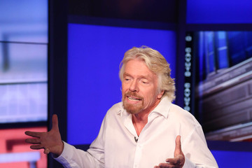 Richard Branson 'Cavuto' Taping in NYC