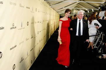 Richard Gere Carey Lowell The Weinstein Company's 2013 Golden Globe Awards After Party Presented By Chopard, HP, Laura Mercier, Lexus, Marie Claire, And Yucaipa Films - Inside