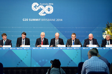 Richard Goyder World Leaders Gather for G20 Summit