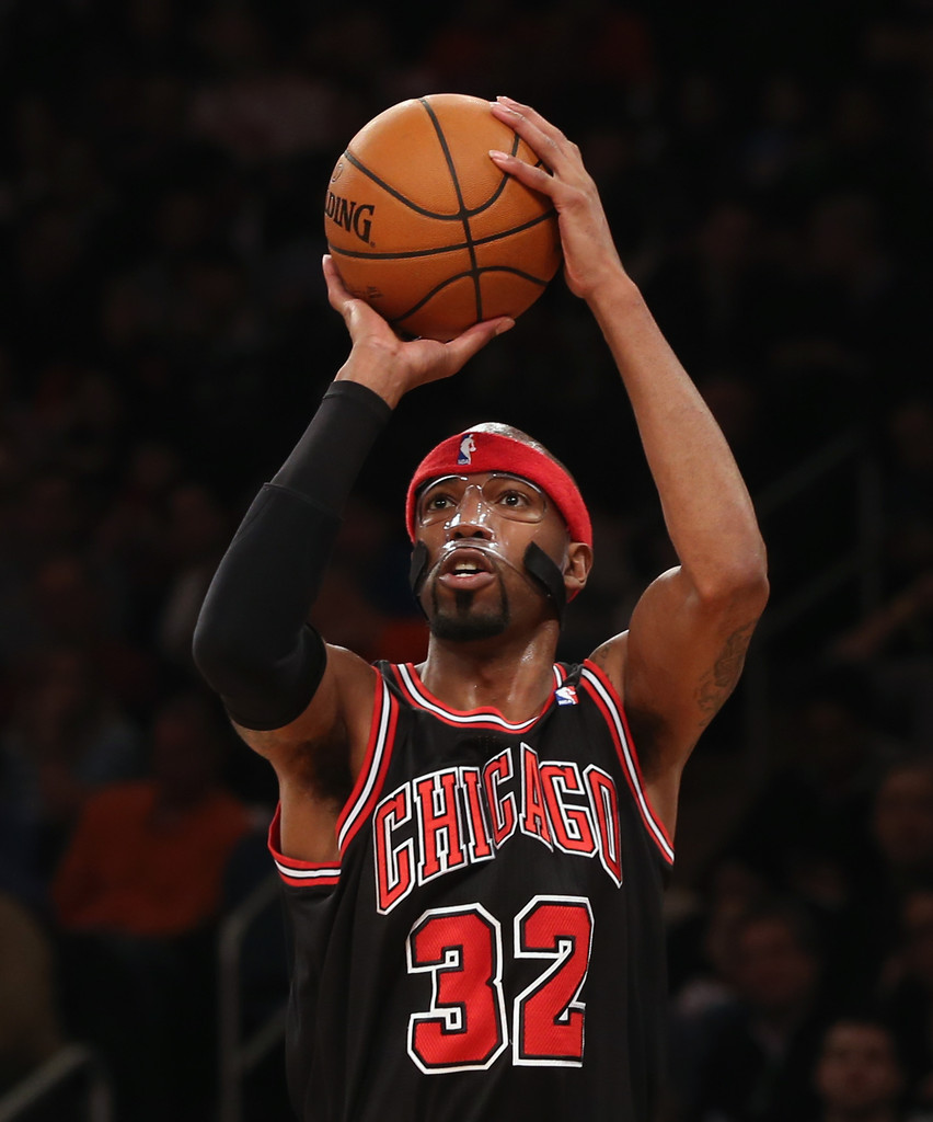 Richard+Hamilton+Chicago+Bulls+v+New+Yor