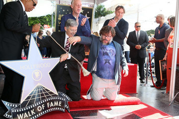 Richard Linklater Jack Black Honored With Star On The Hollywood Walk Of Fame