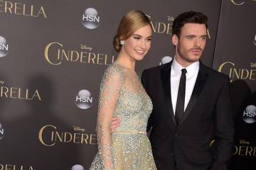 Richard Madden Lily James 'Cinderella' Premieres in Hollywood — Part 3