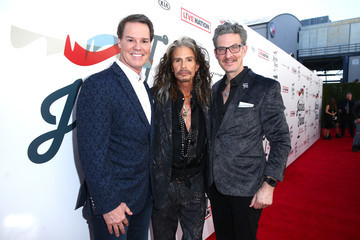 Richard Shaw Steven Tyler And Live Nation Presents Inaugural Janie's FundGala & GRAMMY Viewing Party