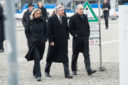 Klaus Wowereit arrives for the state funeral service for former German President Richard von Weizsaecker at the Dom cathedral on February 11, 2015 in Berlin, Germany. Von Weizsaecker was president of Germany from 1984 until 1994 and died in Berlin on January 31 at the age of 94.
