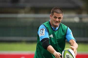 Richie Mccaw Crusaders Training Session