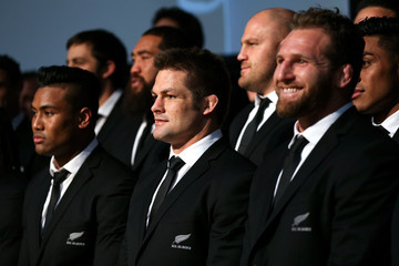 Richie Mccaw Kieran Read New Zealand All Blacks Rugby World Cup Team Announcement
