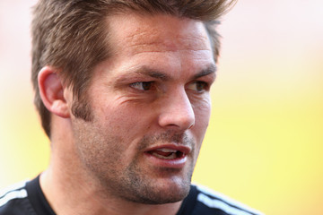 Richie Mccaw New Zealand Captain's Run
