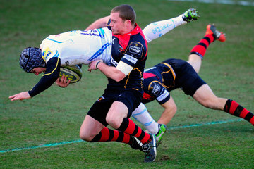 Richie Rees Newport Gwent Dragons v Exeter Chiefs - LV= Cup