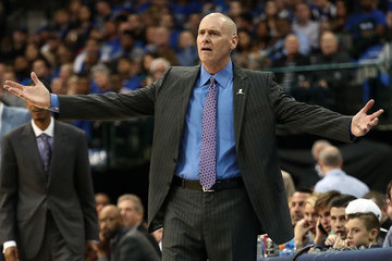 Rick Carlisle Minnesota Timberwolves v Dallas Mavericks