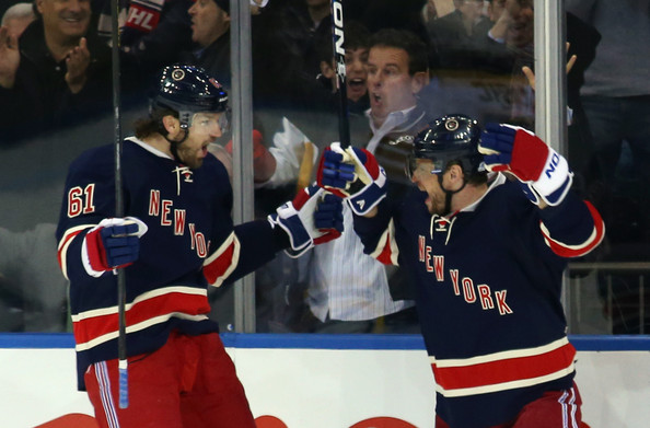 dc8f81574 Rick Nash and Marian Gaborik would play a little over three months  together