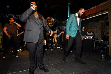 Rick Ross GQ & LeBron James All Star Party Sponsored By Samsung Galaxy And Beats - Inside