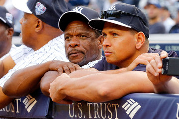 Rickey Henderson Detroit Tigers v New York Yankees