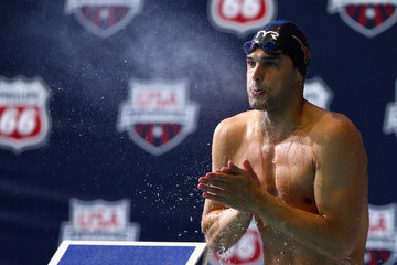 Ricky Berens Swimming National Championships and World Trials: Day 1