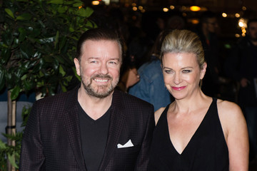 Ricky Gervais Evening Standard Film Awards - Arrivals
